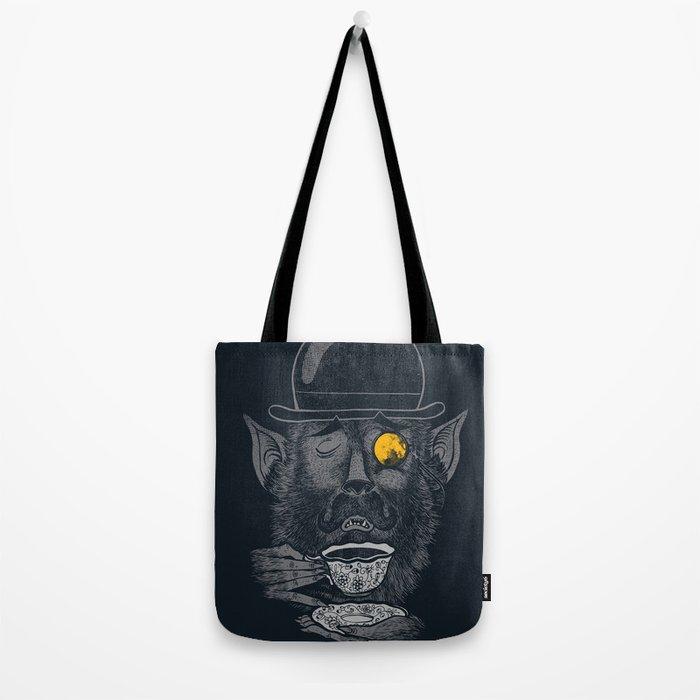 a british gentleman werewolf  Tote Bag