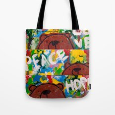 Wood Dominoes - Colour - #2 Tote Bag