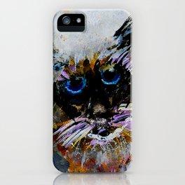 Old Cat iPhone Case