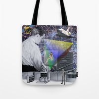 fig Tote Bags featuring Fig.2. by TRASH RIOT