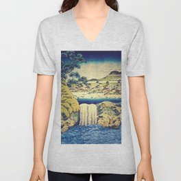 To Pale the Rains in August Unisex V-Neck