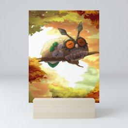 The warmes autumn - Fanart Mini Art Print
