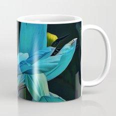 Cool Blue Comos Mug