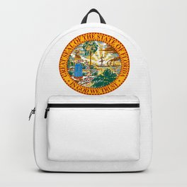 Florida State Seal Backpack