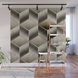 Cubist Wall Mural