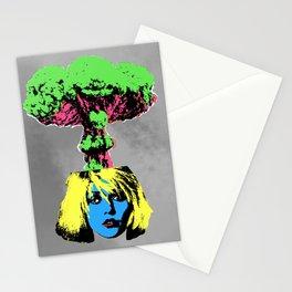 Atomic Blondie Stationery Cards