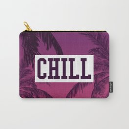 Tropical Chill Quote Carry-All Pouch
