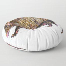 Armadillo Floor Pillow