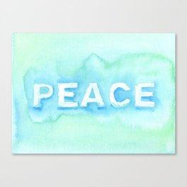 Peace No. 1 Canvas Print