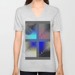 Colour filters Unisex V-Neck