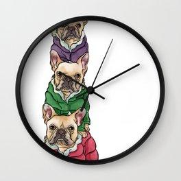 Lilly, Nikko, Mae Ling Wall Clock