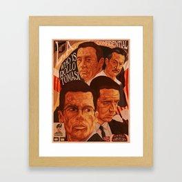 L.A Confidential Framed Art Print