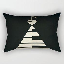 piano music Rectangular Pillow