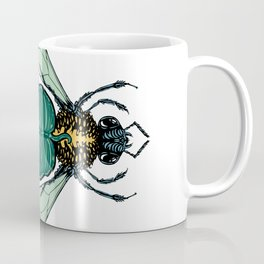 Tropical Bee Coffee Mug