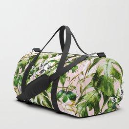 Jungle botanical succulent Duffle Bag