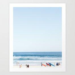 Bondi Beach Watch Art Print