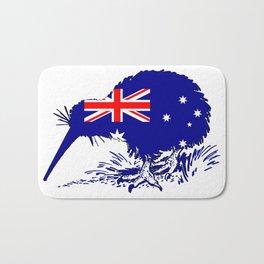 Australian Flag - Kiwi Bird Bath Mat