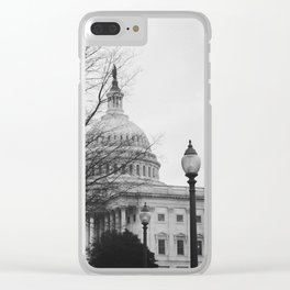 US Capitol Clear iPhone Case