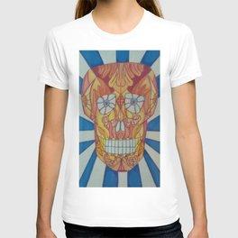 Brett Skull art1 T-shirt