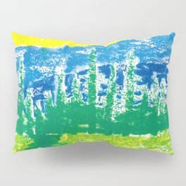 Intense  landscape Pillow Sham