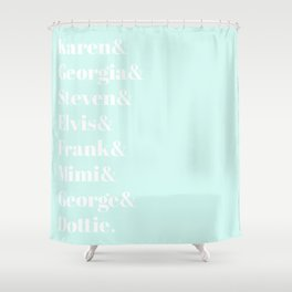 MFM Fam Shower Curtain