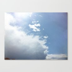 wispy cloud Canvas Print