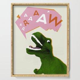 Dinosaur Raw! Serving Tray
