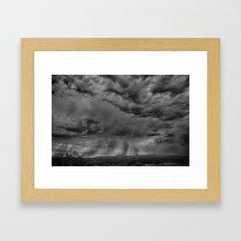Roiling Sky Framed Art Print