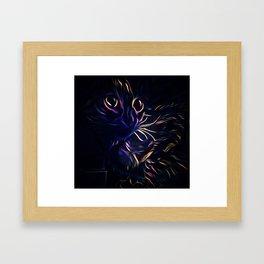 Neo Leo Framed Art Print