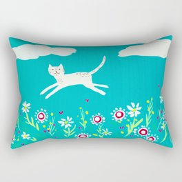 Spring Frolic Rectangular Pillow