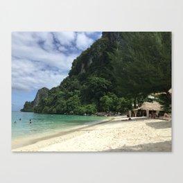Phi Phi Island Beach, Thailand Canvas Print