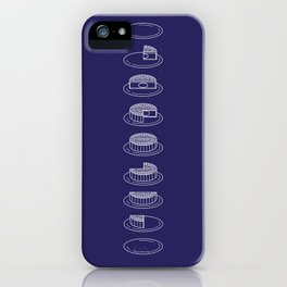 Phases of the moon(cake) // 月餅相 iPhone Case