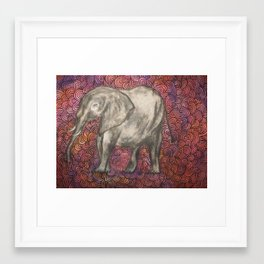 psychadelephant Framed Art Print