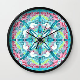 Synchronized Tentacle Wall Clock