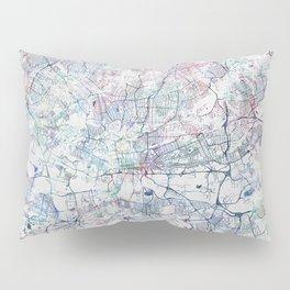 Johannesburg Map Pillow Sham