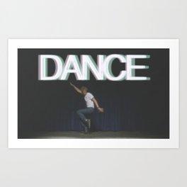 DANCE. Art Print