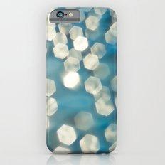 Blue sparkles iPhone 6s Slim Case