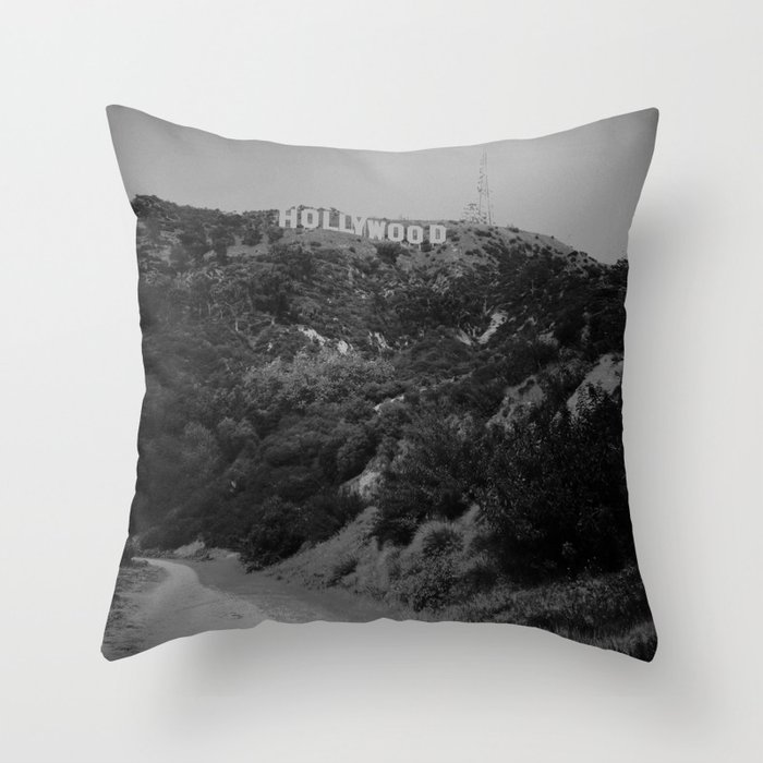 Hollywood Throw Pillow