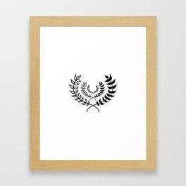 Laurels Framed Art Print