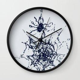 Itty Bitty spidar Wall Clock