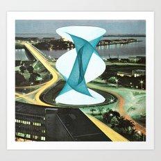 Brave Architecture Art Print