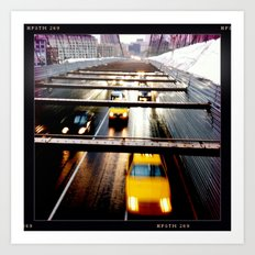 Traffic from the Top Art Print