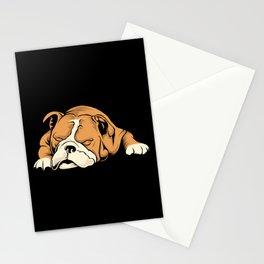 English Bulldog   Dog Lover Stationery Cards