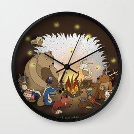 Woodland Tales Wall Clock