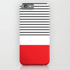 Red Stripe iPhone 6s Slim Case