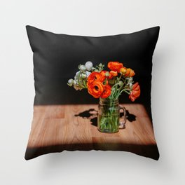RANUNC Throw Pillow