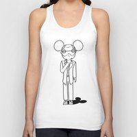 freud Tank Tops featuring Freud x Mickey by RespectExistence