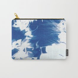 Nature Cyanotype II Carry-All Pouch