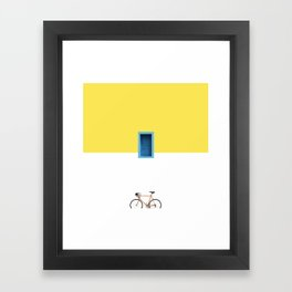 Paros Framed Art Print