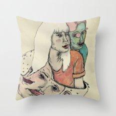 Re-Celos Throw Pillow
